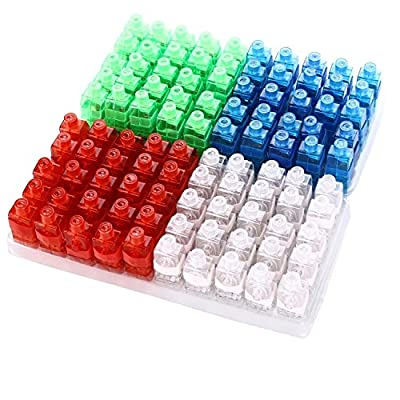 LED Finger Lights,Gladle 100 Pcs Super Bright Finger Flashlight Light Up Toys Party Favors Supplies, Assorted Color
