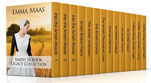 Emma's Amish 16 Book Box Set (Amish Suspense and Romance): 16 Clean Amish Stories (English Edition)