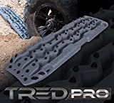 ARB TREDPROBB Vehicle Recovery Boards Traction Tracks and Extraction Device for Off-Road Mud, Sand, & Snow, Black with Black Teeth (Black/Black)