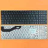 kompatibel für Asus F540, F540LA DEUTSCHE - Schwarz Tastatur Keyboard ohne Rahmen