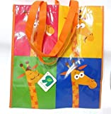Toys R Us Geoffrey the Giraffe reusable grocery shopping tote bag