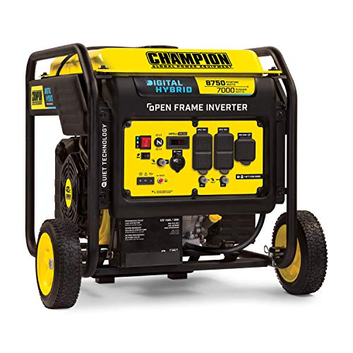 Champion Power Equipment 100520 8750-Watt DH Series Open Frame Inverter, Electric Start