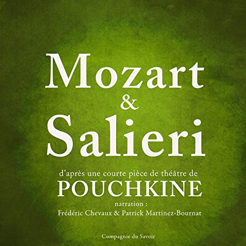 Mozart & Salieri [French Version] audiobook cover art