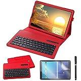 Galaxy Tab S4 10.5 Keyboard Case, REAL-EAGLE PU Leather