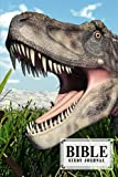 """Bible Study Journal: Bible Study Journal Dinosaur Tarbosaurus Cover, SOAP Sermon Notes Journal   Design by Ronny Kellner   120 Pages, Size 6"""" x 9"""""""