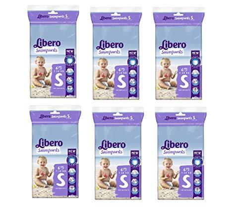Libero SwimPants Small - 7 à 12 kg - Carton de 36 maillots de bain jetables