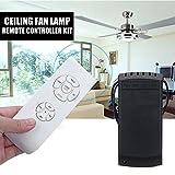 oobest Kit de mando a distancia universal de lámpara de ventilador de techo + mando a distancia inalámbrico de Timing Atteindre 30metros