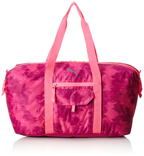 Puma Fit at Sports Bag, Unisex - Adulto, Knockout Pink/Ultra Magenta/Graphic, Taglia unica