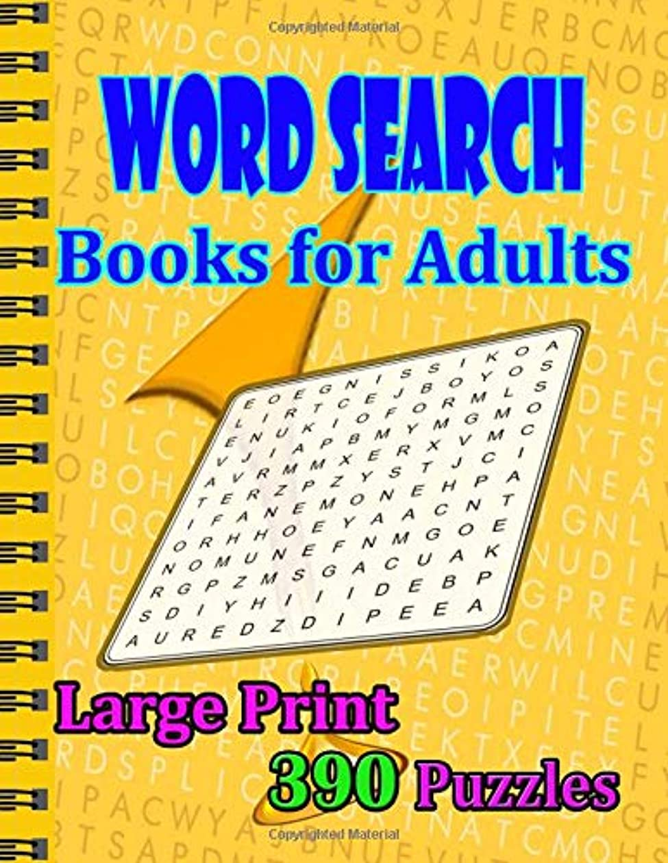 五理論的歴史家Word Search Books for Adults Large Print 390 Puzzles: This is a Hours of fun and entertainment to enjoy!