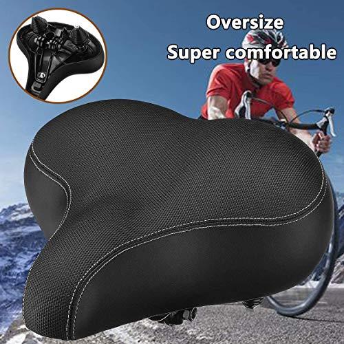JDDSA Sillín De Bicicleta, El Zócalo De Amortiguador Ball Asiento de Bicicleta Relleno Gran Diseño Bicicleta Asiento para MTB/Bicicleta de Carretera/Montaña/Urbana/Senderismo