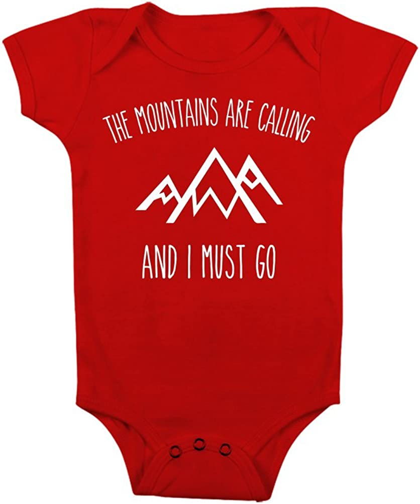 Infants M379 For Baby Boy Girl,Baby Shower Gift Explore Mountains Hiking Onesie Bodysuit Cute Baby Outdoor Camping Shirt Newborn