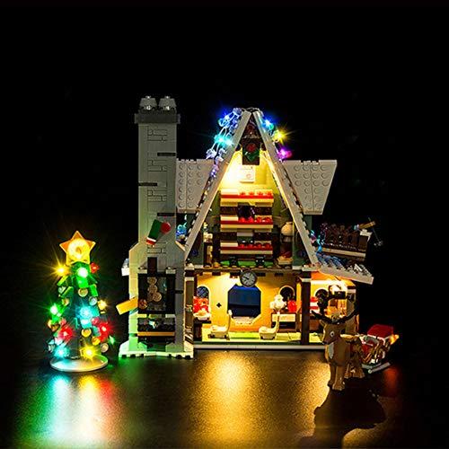 HYZM - Kit di illuminazione a LED per Lego Elf Clubhouse, kit di luci a LED per modello Lego 10275 (solo set di luci a LED, senza kit Lego)