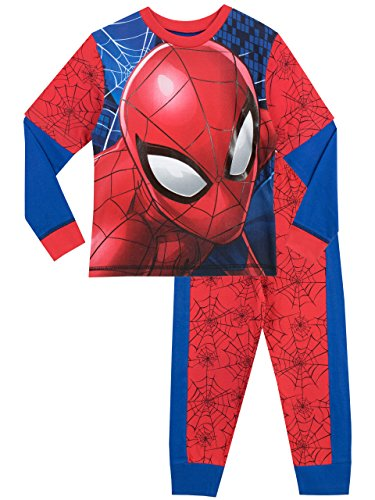 Spiderman Jungen Spider-Man Schlafanzug 122