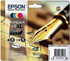 Epson C13T16364012 Standard à jet d'encre- 4 Multipack Amazon Dash Replenishment est prêt
