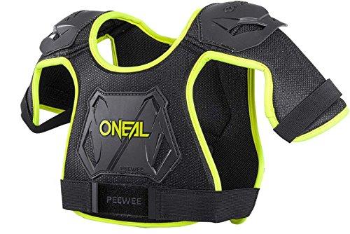O'Neal Peewee Chest Guard Kinder Brust/Schulterprotektor schwarz/gelb Oneal: Größe: XS/SM