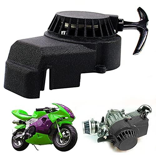 Trintion Seilzugstarter Pull Starter Aluminium für 49cc 2-takt Mini Moto Dirt Pocket Bike ATV