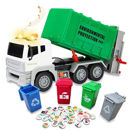 RACPNEL Garbage Truck Toy