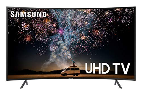 Samsung UN55RU7300FXZA Curved 55 inches 4K UHD 7 Series Smart TV (2019) (Renewed)
