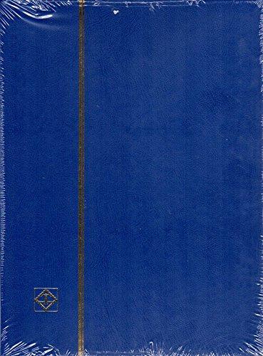 ライトハウス社 ストックブック 9段ポケット切手帳 (青)