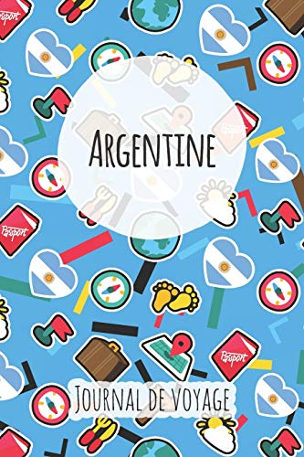 Journal de voyage Argentine: Planificateur de voyage I Carnet de route I Carnet à grille à points I Carnet de voyage I Journal de voyage I Journal de poche I Cadeau pour le routard