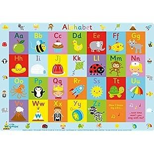 Little Wigwam Alphabet Placemat:Diet-beauty
