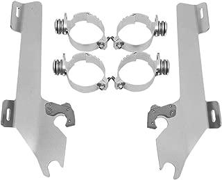 Memphis Shades MEK1904 Trigger-Lock Mounting Kit for Honda VTX1800C/F 2002 - 2008) with exposed forks