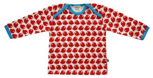 Loud + Proud Unisex - Baby Sweatshirt 205, Gr. 86/92, Rot (tomato)