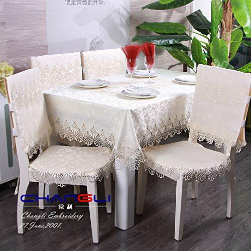 sans_marque Mantel de mesa, cubierta de mesa, cubierta de mesa lavable que se puede utilizar para decoración de buffet de mesa de cocina, mantel lavable de 110 x 110 cm