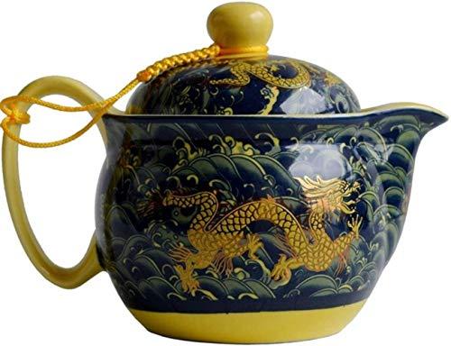 Viner theepot 410ml porselein Chinese draken pot roestvrijstalen zeef infusie bloemen theeketel keramiek theeservies, diep