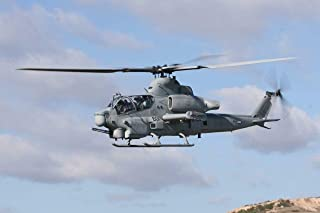 Home Comforts Bell Ah-1 Super Cobra Attack Helicopter Poster Picture USMC USA Vivid Imagery Laminated Poster Print 11 x 17