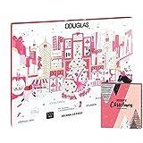 Douglas Beauty Adventskalender New York 2019 Beautykalender im Wert von 200€ mit Haar- & Armband Adventskalender