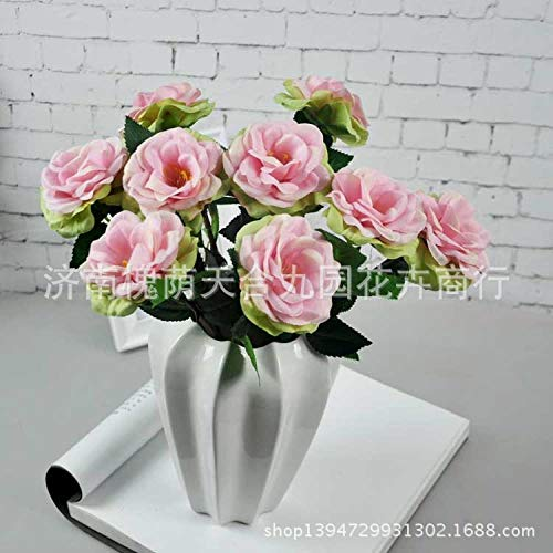 WEFLOWERSSingle Rose mayorista Flor Artificial Single Rose Rose Flower