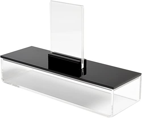 lowest Polaroid Clear discount Acrylic Marker/Pen/Photo outlet online sale Storage Box with Built-in Frame, Colorful sale