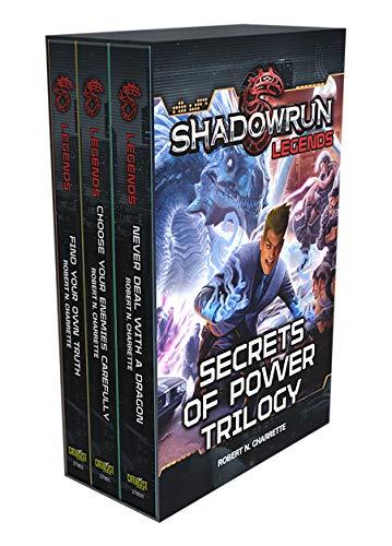 Shadowrun Legends: Secrets of Power Trilogy: (Shadowrun Box Set #1) (English Edition)