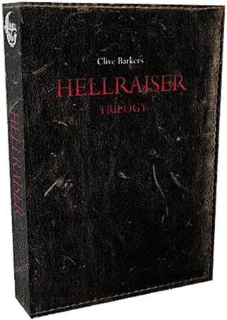 Hellraiser 1-3 Trilogy - UNCUT 4 Disc - Mediabook EDITION Blu-ray