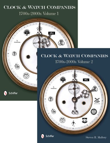Compare Textbook Prices for Clock & Watch Companies, 1700s-2000s  ISBN 9780764337420 by Steven R. Mallory