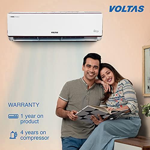 Voltas 1.4 Ton 3 Star Inverter Split Adjustable AC (Copper, 2021 173V ADJ, White)