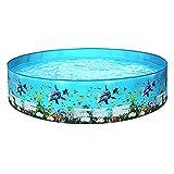 XIEJING Piscina Hinchable Niños Inflable Pool Pool Niños Inflable Piscina Piscina Gran Familia Play Al Aire Libre Piscina (Color : 122x25)