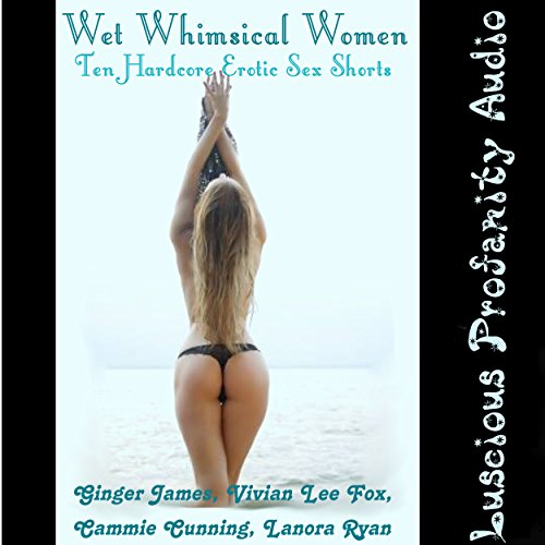 Wet Whimsical Women: 10 Hardcore Erotic Sex Shorts audiobook cover art