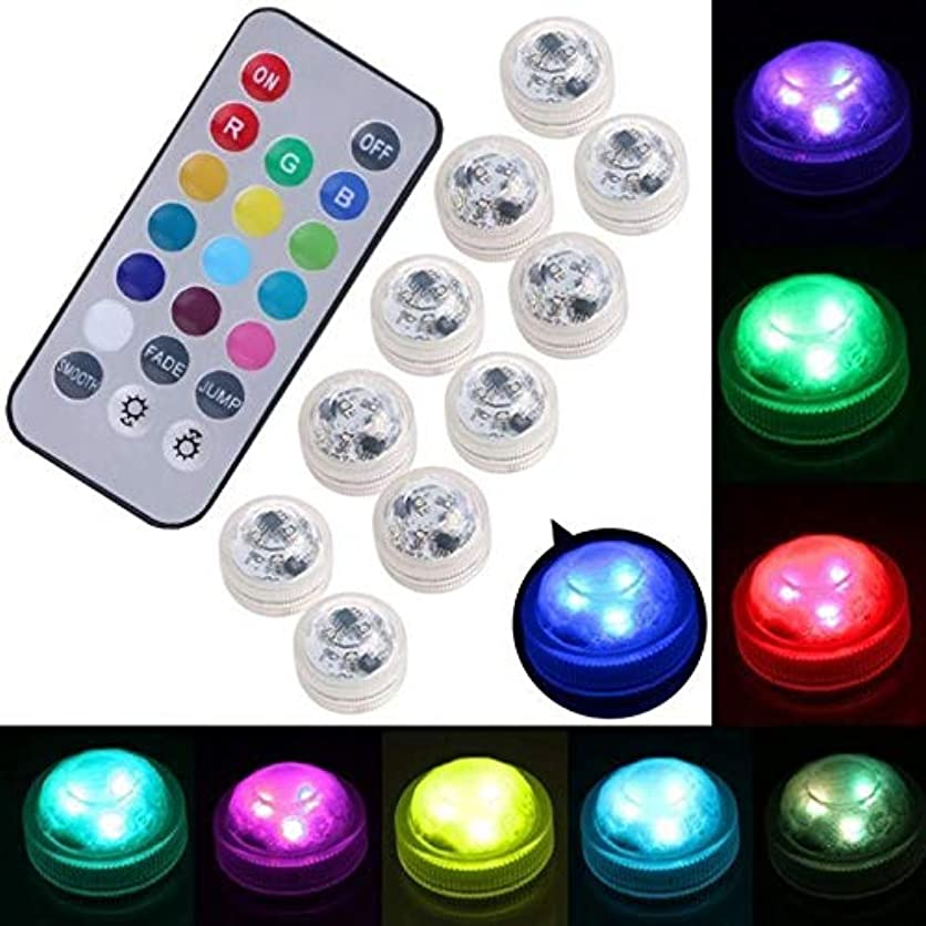 XINLIFAN Waterproof LED RGB Submersible Light Wedding Party Lamp with Remote Control UK Very Good (Color : Like The Picture, Size : 2pcs lamp) gsyq15357