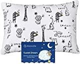 Aisawate Toddler Kids Pillow with Pillowcase,Soft Organic Cotton Baby Childrens Pillows 13X18 for Girls Boys Sleeping,Washable and Hypoallergenic,Best Kids Gift