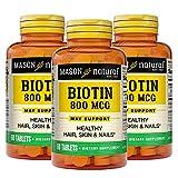 Mason Natural, Supplement, 800 Mcg Tablets,...
