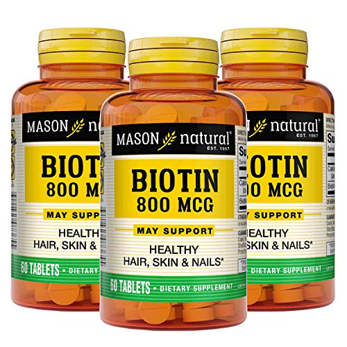 Mason Natural, Supplement, 800 Mcg Tablets, 60 Bottle, Dietary...
