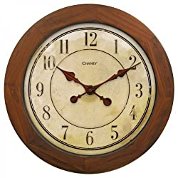 Chaney Instruments 46077CH AcuRite 16 Wood Wall Clock