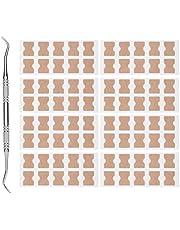 Parches de corrección de uñas, almohadilla fijadora de uñas encarnadas levantador de uñas cómodo para uñas encarnadas para corrección de uñas para uso diario para la salud de las uñas de los pies