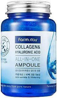 امبولة متعددة الاستخدامات بالكولاجين وحمض الهيالورونيك من فارم ستاي - 250 مل