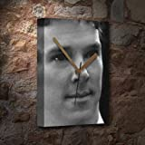 BENEDICT CUMBERBATCH - Canvas Clock (A5 - Signed by the Artist) #js003