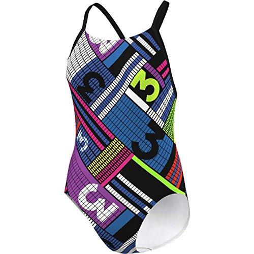 adidas Clubline Pulse Infinitex + - Schwimmanzug Mädchen, Größe:128