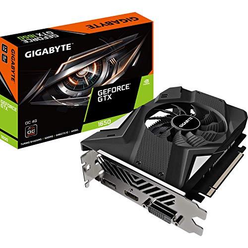 Gigabyte GeForce GTX 1650 D6 OC - Scheda grafica da 4 GB