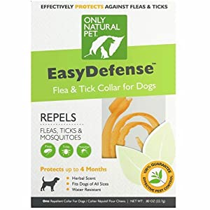 Only Natural Pet EasyDefense Flea & Tick Dog Collar